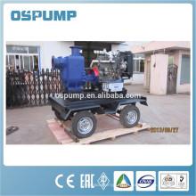 Pompe centrifuge chimique d'eaux d'égout avec la roue de pompe
