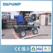 Chemical centrifugal sewage pump with pump impeller