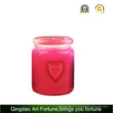 Bougie parfumée à double coeur pour décoration intérieure
