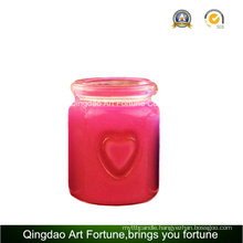 Scented Double Heart Jar Candle for Home Decor