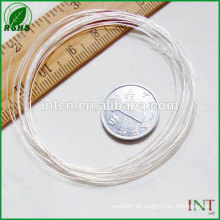 alambre de Ag99.99 plata pura
