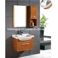 Gabinete de banheiro de madeira maciça / vaidade de banheiro de madeira maciça (KD-436)