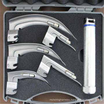 Professional Medical Fiber-illuminated Laryngoscope
