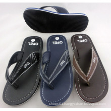 Cheap Good Sell Men PU Slipper Sandals (POEL)