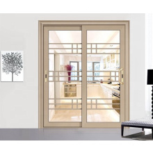 Puertas deslizantes de panel francés de estilo insonorizado para sala de estudio