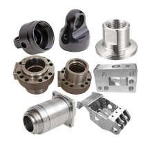 Piezas mecánicas personalizadas no estándar de acero o aluminio.