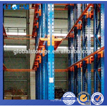High rate space utilization drive-in racking