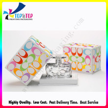 High Quality Logo Stamping Colorful Perfume Paper Box Manufacturer