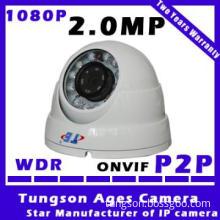 Cmos cctv camera  2 Megapixel Aptina CMOS 720P IP Dome Camera