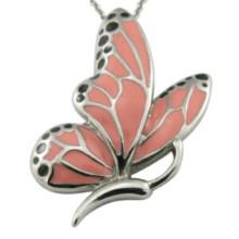 Vestido de partido accesorio rojo de la ropa de la mariposa