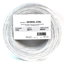 1000FT 22 Gauge 4 Conducteur Solid Security Alarm Wire Cable