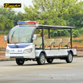 72V 11 seater electric sightseeing bus city shuttle bus electric office bus