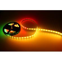 Color que persigue 12vdc RGB pixel dirigido luz de tira direccionable 300leds