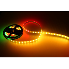 Color chasing 12vdc RGB pixel led addressable strip light 300leds