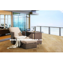 Kombinierte PE Rattan Wicker Outdoor Lounge Bp-8029