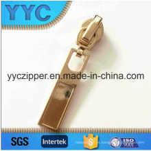 5 # Nylon auto-Lock deslizante con brillo de color dorado