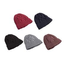 Padrões de confecção de malhas das mulheres para chapéus do Beanie