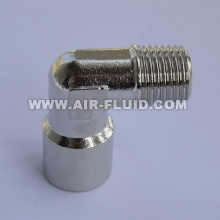 BSP Male/Female Elbow Nickel Plated Brass Fittings