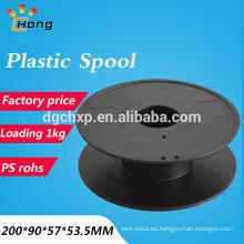 Carrete plástico del carrete de PS del filamento de la impresora de 1kg 3d carrete