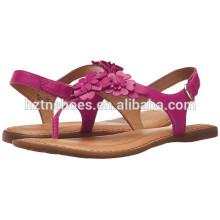 Мода флип-флоп сандалии девочек 2016 новейшие плоские сандалии обувь