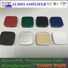 mini amplificador portátil amplificador de auscultadores amplificador de bateria recarregável