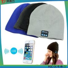 Теплый Шапочка шляпа Беспроводная связь Bluetooth Смарт Крышка Гарнитура наушники спикер