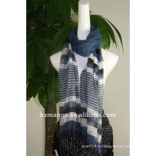 2016 Les derniers foulards à la mode en soie / visocse