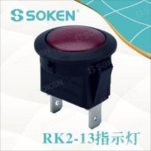 Soken Switch Miniatura Indicador de señal circular
