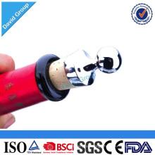 Certified Top Supplier Wholesale Custom Bead Bottle Stoppers Sparking Wine Bottle Stopper