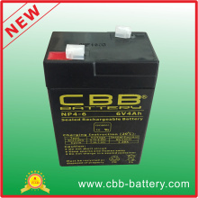 <Cbb> Rechargeable Sealed Mf AGM VRLA Battery 6V4ah