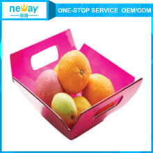 Neway Square Shape Plastic Fruit Plate