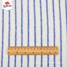 Types de tissus tricotés en polyester à rayures fantaisie