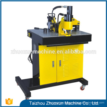 China portable hydraulic punch aluminum punching wire cutting busbar machine
