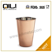 Copper plating moscow mule wine cup