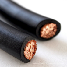 25mm2 70mm2 EPDM sheath Copper conductor superflex welding cable