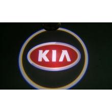 Dc9v - 24v Philp 3w Led Chip Green, Blue, Red Car Door Led Ghost Shadow Light / Decorative Lights For Kia
