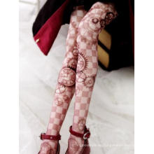 BJD Socken Lady Printed High Stockings SD/MSD Puppe