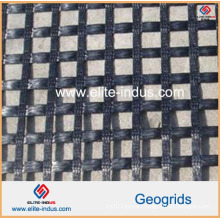 High Strength Polyester Uniaxial Ux Geogrid
