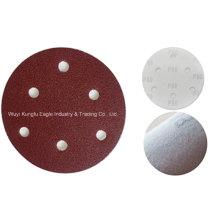 Discos de lija fibra gancho y bucle de sujeción--Kexin
