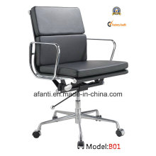 Eames Modern Office Leder Sitzung Swivel Computer Stuhl (RFT-B01)