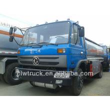 Dongfeng 10-12M3 dimensões caminhão de combustível, 4x2 caminhões de entrega de óleo combustível