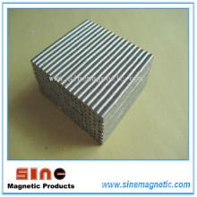 Imán SmCo de disco permanente de alta temperatura
