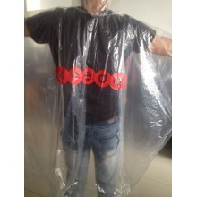 cheap pe rain poncho in stcok
