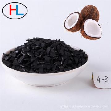 Carvão ativado granular de grau alimentício a granel