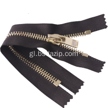 Metal Closed End 3 Inch Zippers para Clark