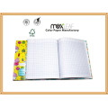 Size 22*17cm Cute French Ruling Hardcover Notebooks