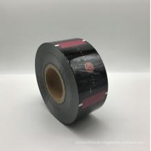 Filme plástico impresso costume do rasgo fácil da folha de alumínio