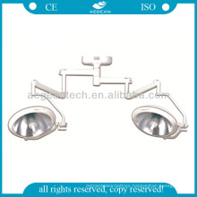 AG-Lt005 with Double Lamp Holders Ceiling Mounted LED Operating Lamp