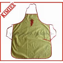 Cocina de algodón 100% cocina delantal barato con los lazos
