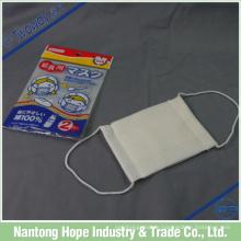 China Baumwolle Gaze 3ply weiße Gesichtsmaske